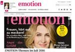 Frauenmagazin EMOTION