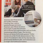 Frauenmagazin Maxima über FuelBox